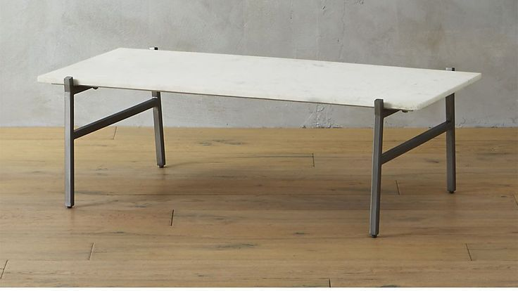 Slab Small Marble Coffee Table With Antiqued Silve Antiqued Base