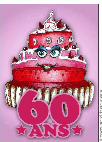 les 25 meilleures idées de la catégorie anniversaire 60 ans humour