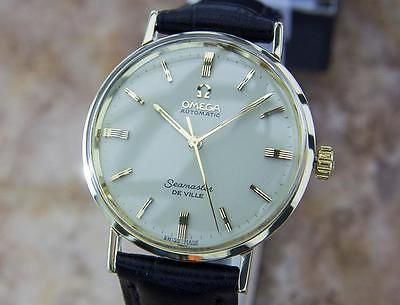 Omega-Seamaster-DeVille-Swiss-Made-1960s-Automatic-Mens-Rare-Watch-MX40