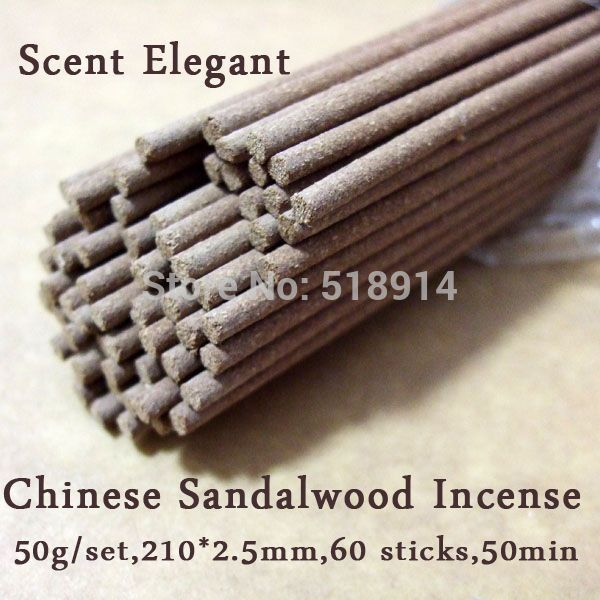Natural Sandalwood Incense Sticks