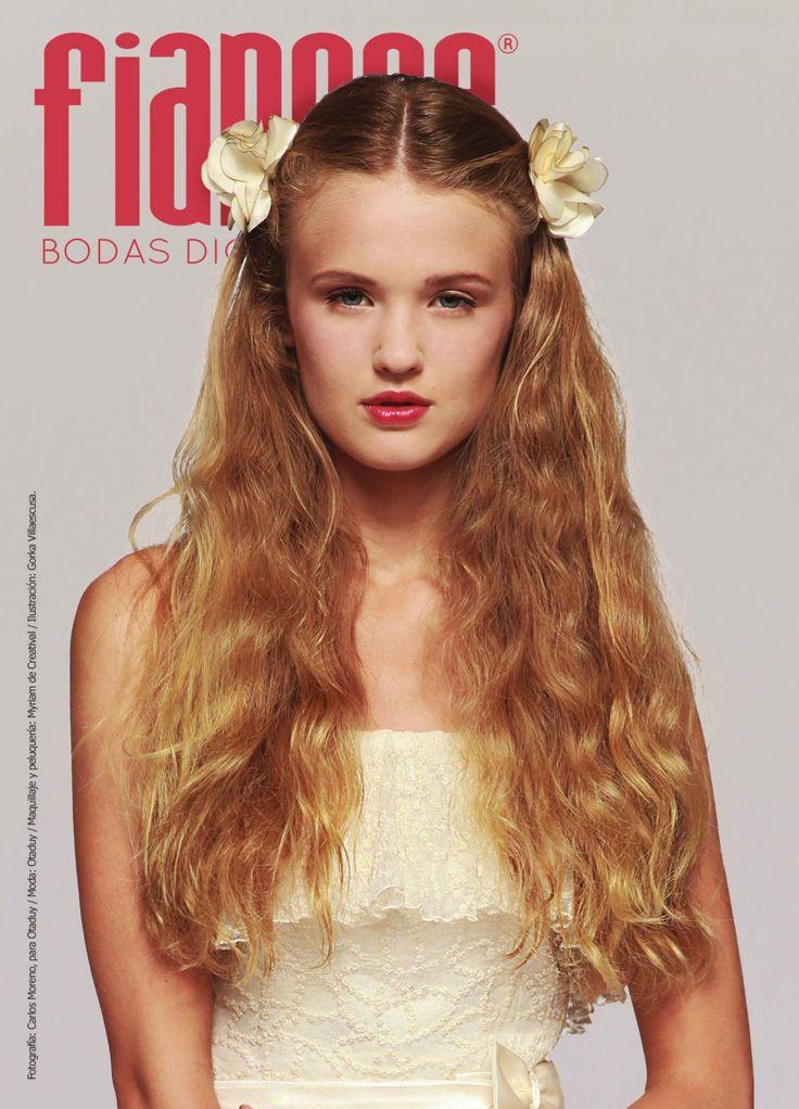 Revista FIANCÉE BODAS, portada marzo 2014. 6 temas que los novios tienen que hablar antes de la boda. 12 básicos para las bodas de primavera.