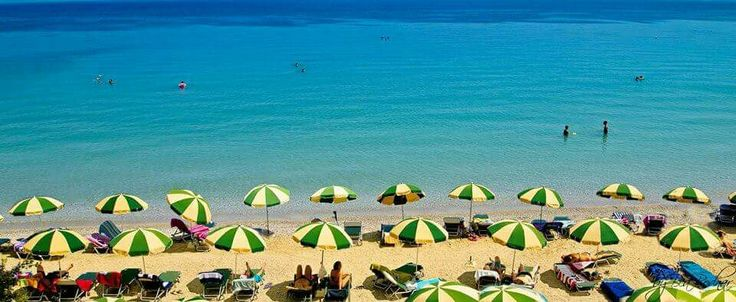 Christina beach, corfu island!