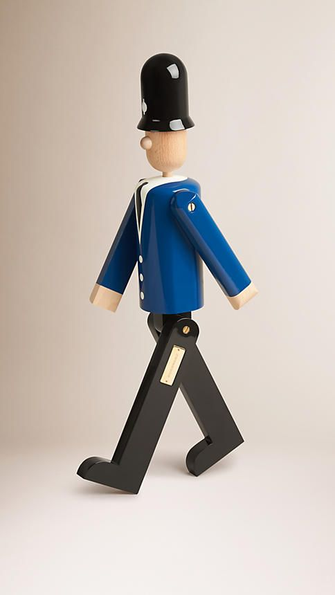 Multicolour The Bobby Limited Edition Wooden Puppet - Image 1