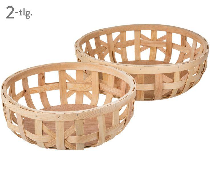 Ordnung mit Stil: Korb-Set Weave aus Kiefernholz. Lassen Sie sich von weiteren Produkten von HOUSE DOCTOR inspirieren. Jetzt auf >> WestwingNow.