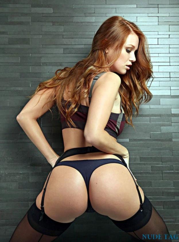 Redhead of the week nude