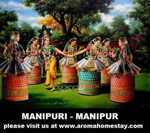 #Manipuri #dance also known as #Jagoi is one of the major #Indian #classical #dance forms named after the region of its origin – #Manipur.