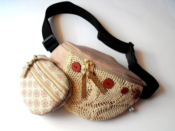 bumbag with a matching purse? check them on Etsy :)