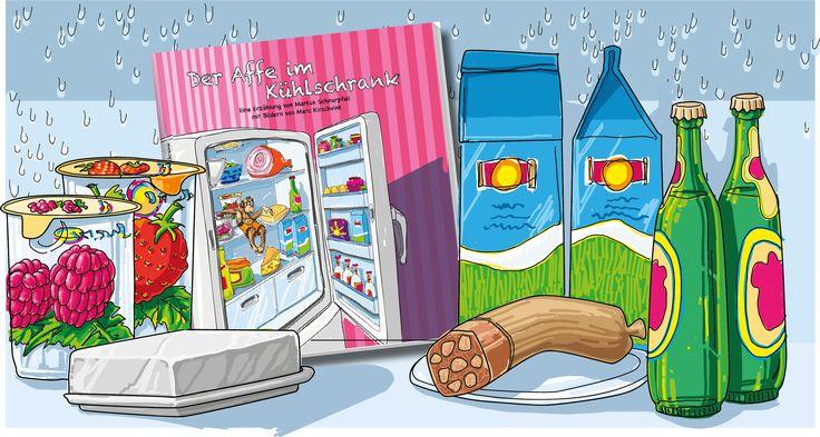 Der Affe im Kühlschrank: Wörter müssen gut schmecken - unser neues Kinderbuch für Kids ab 5 Jahren.