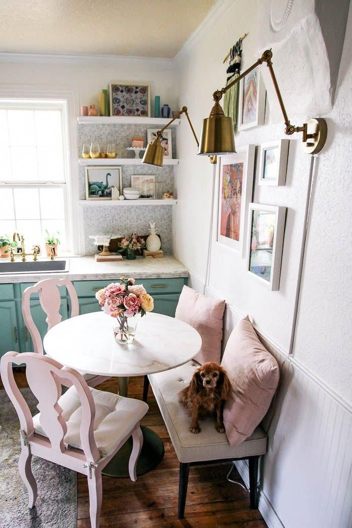 Small Space Dining Table At Home With Ashley In 2020 Small Dining Room Table Dining Room Small Tiny Dining Rooms