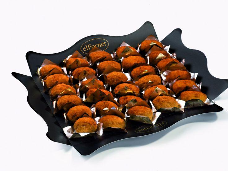 No dejes de probar nuestras croquetas. Están... ¡Riquísimas! #caterings #alimentación