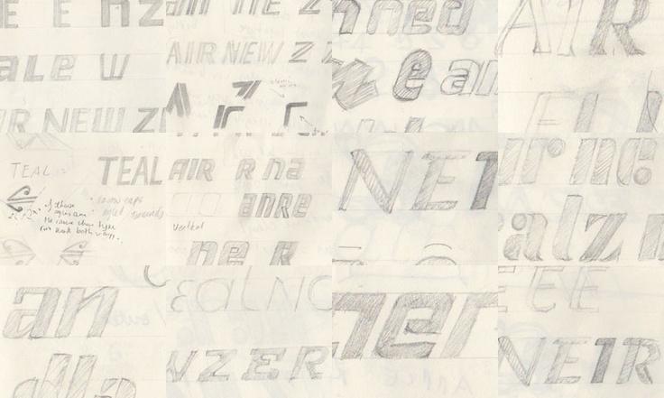 The Air New Zealand Logotype Design Process