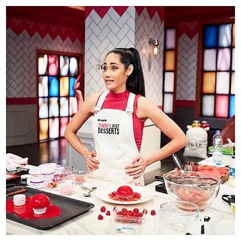 Don't be nervous Brogen! Good luck in the finals! Zumbo's Just Desserts contestant Brogen stylishly outfitted in a Cargo Crew Sidney Bib Apron... Available at http://www.cargocrew.com.au/aprons/apron-collections/sidney-aprons/sidney-bib-apron-sulphur.html