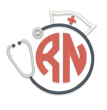 Nurse Hat Stethescope Monogram Frame Embroidery Design - Instant Download by boutiquefonts on Etsy https://www.etsy.com/listing/232888369/nurse-hat-stethescope-monogram-frame