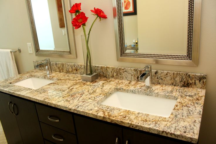 Granite Bathroom Vanity With Trench Sinks Pensacola Fl Superior Granite Superior Granite