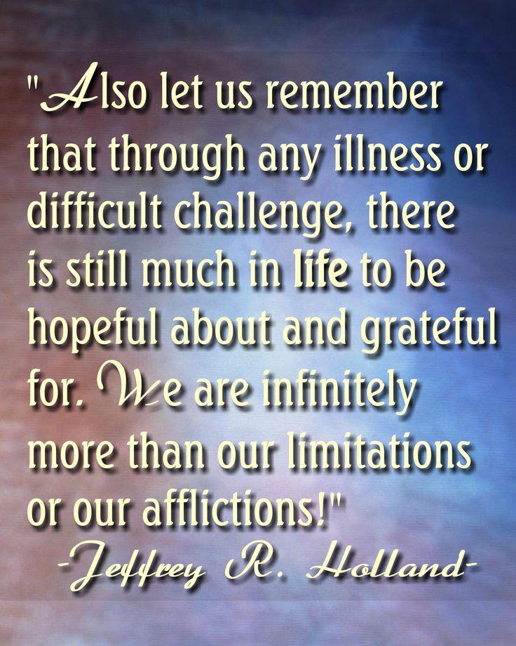 -Elder Holland, GC Oct 2013. #LDSconf #ElderHolland