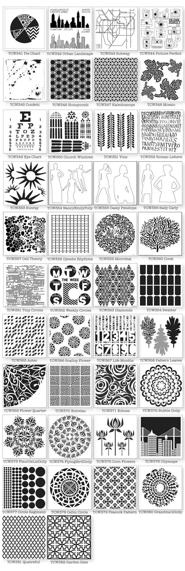 366 best Stencils images on Pinterest | Stencil, Stenciling and ...