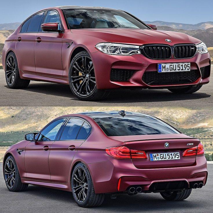 BMW M5 First Edition 2018 Nova geração do sedã esportivo alemão é construída com peças em fibra de carbono e alumínio. O modelo traz propulsor M TwinPower Turbo 4.4 litros V8 biturbo de 600 cavalos entre 5.600 e 6.700 rpm e torque de 7647 kgfm disponível já a partir de 1.800 rpm até 5.600 rpm. O bloco é acoplado com a transmissão automática M Steptronic de oito velocidades.  Segundo a BMW o M5 faz  de 0 a 100 km/h em apenas 34 segundos e à velocidade máxima (limitada eletronicamente) de 250…