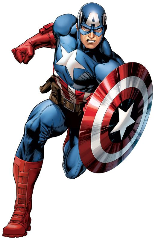 #Captain #America #Clip #Art. (THE * 5 * STÅR * ÅWARD * OF * MAJOR ÅWESOMENESS!!!™) [THANK U 4 PINNING!!!<·><]