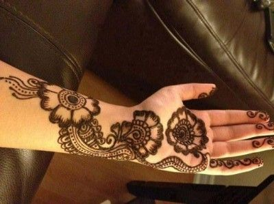 Shaded New Floral Henna Designs and Patterns