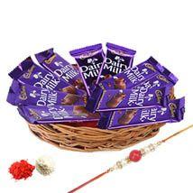 Rakhi Choco Basket For Brother