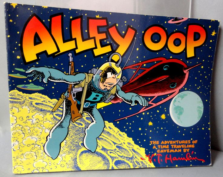 ALLEY OOP Vol 3 First Trip to the Moon with Time Traveling Caveman V T Hamlin Aug 31 '48-Nov 9 1949 Kitchen Sink
