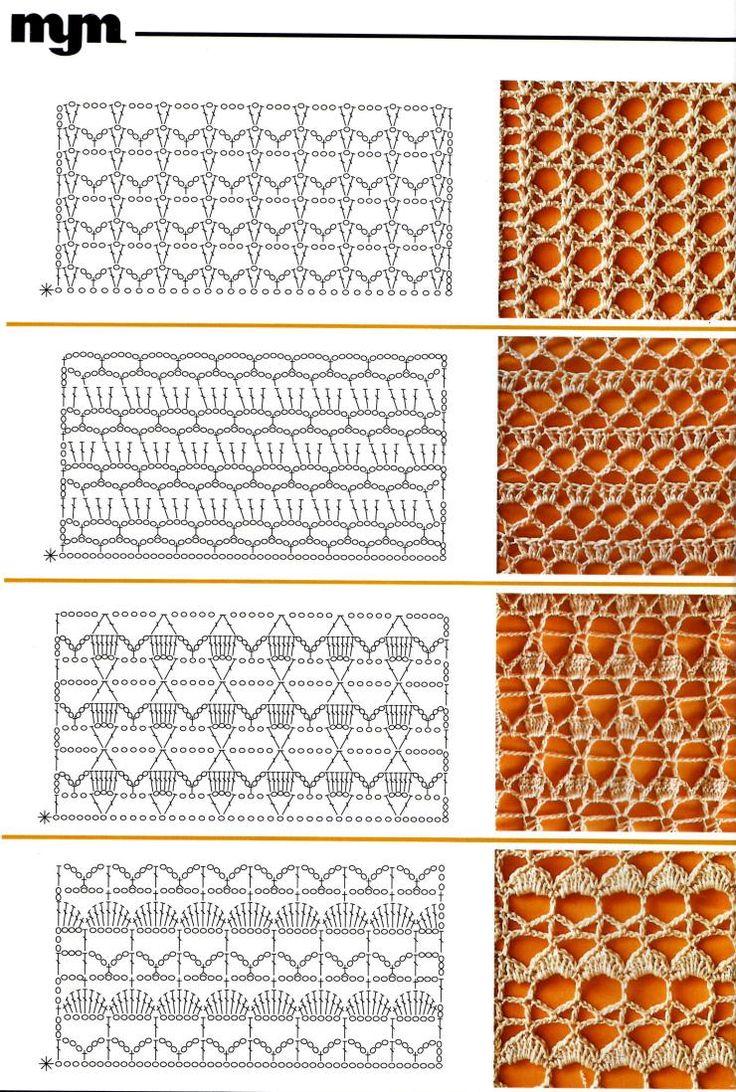 1403 besten Crochet Patterns & Tutorials stitches 1 ...
