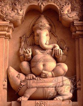 Shri Ganesh! - Ganesh in Kelaniya Temple, Sri Lanka