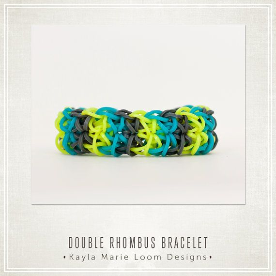 Party Favors - Rainbow Loom Double Rhombus Bracelet ...