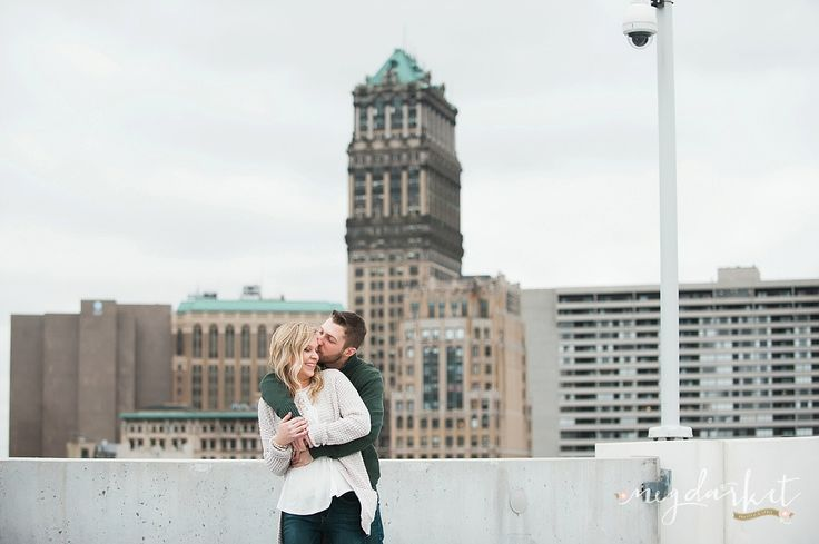Detroit Wedding Photographer, Detroit Engagement Photographer, Detroit Weddings, Detroit, Detroit Engagement, 2016 Bride, Brewery Engagement Pictures, Detroit Engagement Pictures by Meg Darket Photography