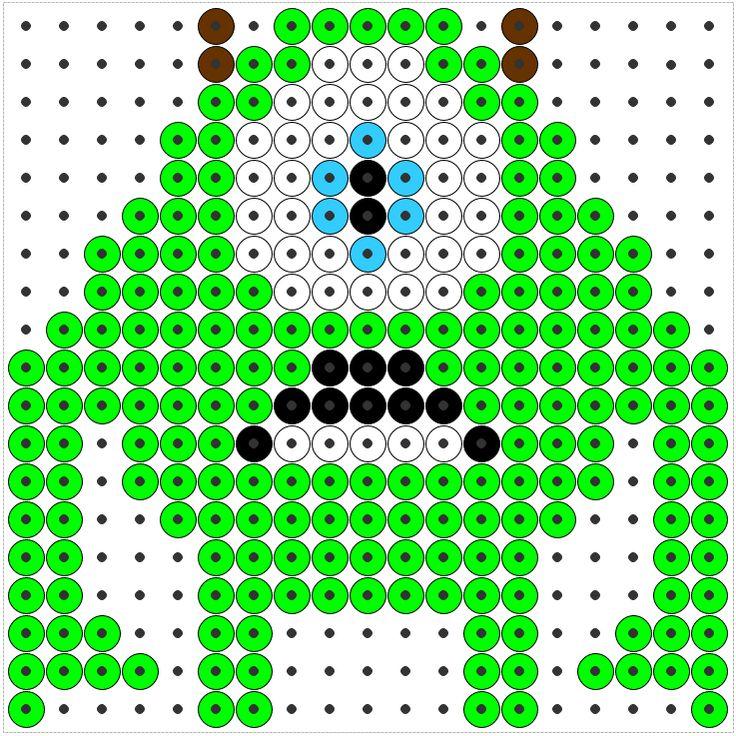 Kralenplank monsters en co