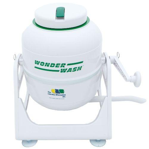 Laundry Alternative Wonderwash Portable Hand Crank Mini Washing Machine