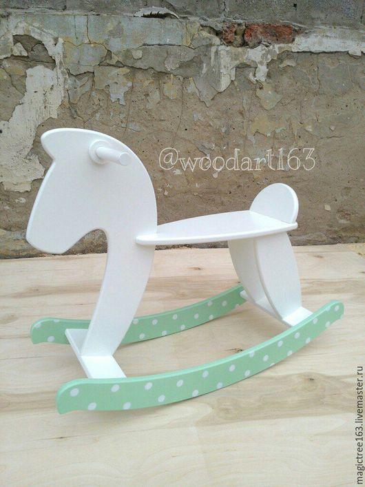 Детская ручной работы. Ярмарка Мастеров - ручная работа. Купить Лошадка Качалка. Handmade. Комбинированный, деревянная лошадь, подарок для мальчика