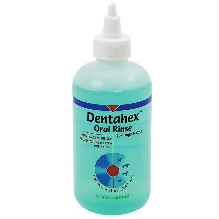 Dentahex Oral Rinse by Vet Solutions (8 oz) >>> For more information, visit image link.