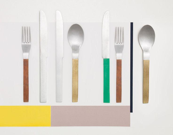 Muller van Reinterprets Cutlery for Valerie Objects | Yellowtrace