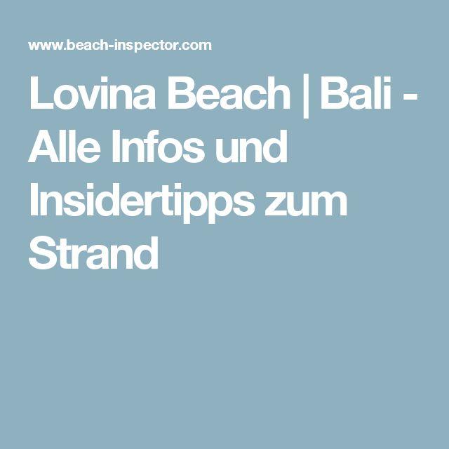 Lovina Beach   Bali - Alle Infos und Insidertipps zum Strand