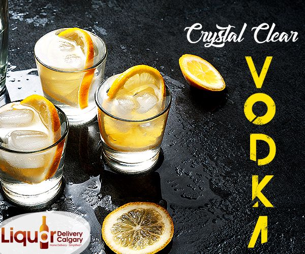To receive the best #Vodka available in Calgary, #order only from Liquor Delivery Calgary!  ☎️Dial : 403-968-9696 www.liquordeliverycalgary.ca