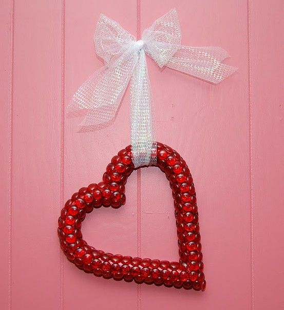 Heart shaped wreath holiday pinterest