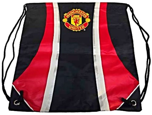 Manchester United Drawstring Gym Sack with Club Crest