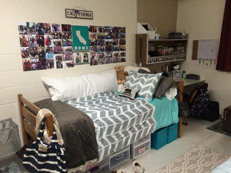 My Dorm Room, at Missouri State University.