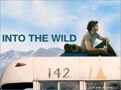 Into The Wild; my favorite book