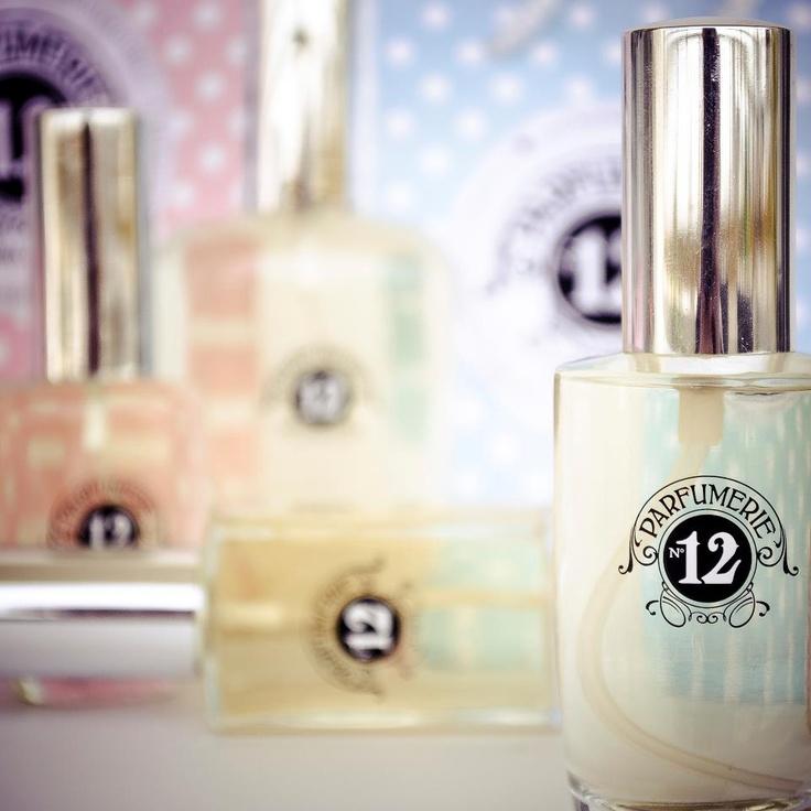 Visual identity for a Parfumerie