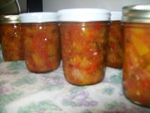 Peach Salsa make your own. This is so yummy and easy.. great thing to bring to a party