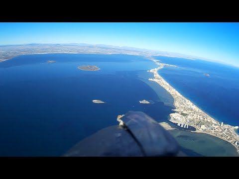 Drone ( la manga del mar menor ) - YouTube
