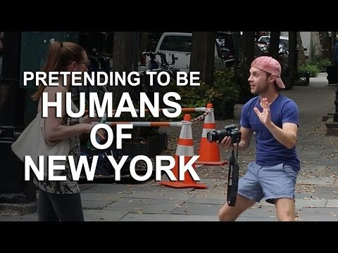 Guy Trolls People By Pretending To Be The Humans Of New York Photographer (Video) That is HILARIOUS! What a little jerk.