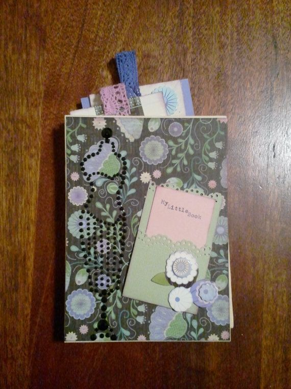 My Little Book Journal by ForOliveYou on Etsy, $20.00