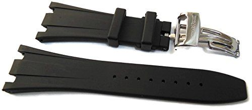 28mm Black Rubber Watch Strap Band For Audemars Piguet https://www.carrywatches.com/product/28mm-black-rubber-watch-strap-band-for-audemars-piguet/ 28mm Black Rubber Watch Strap Band For Audemars Piguet  Check more at https://www.carrywatches.com/product/28mm-black-rubber-watch-strap-band-for-audemars-piguet/