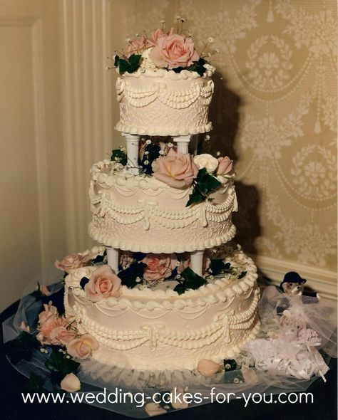 http://www.wedding-cakes-for-you.com/index.html Victorian Wedding Cake by Wedding Cakes For You @ Ridgefield Community Center Ridgefield CT.