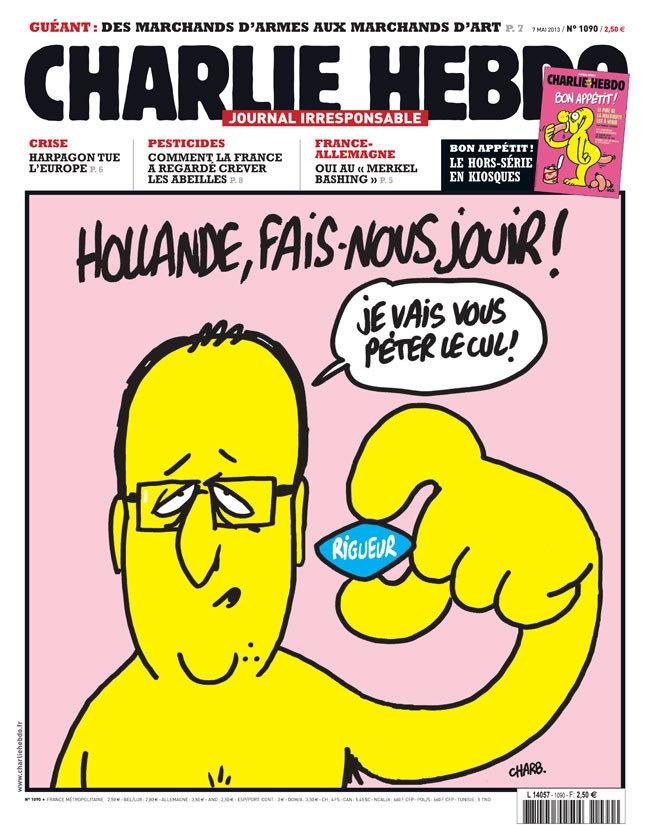La une | Charlie Hebdo | Charlie Hebdo - Comment jouir normalement et sans entraves sur un pédalo en dix leçons...