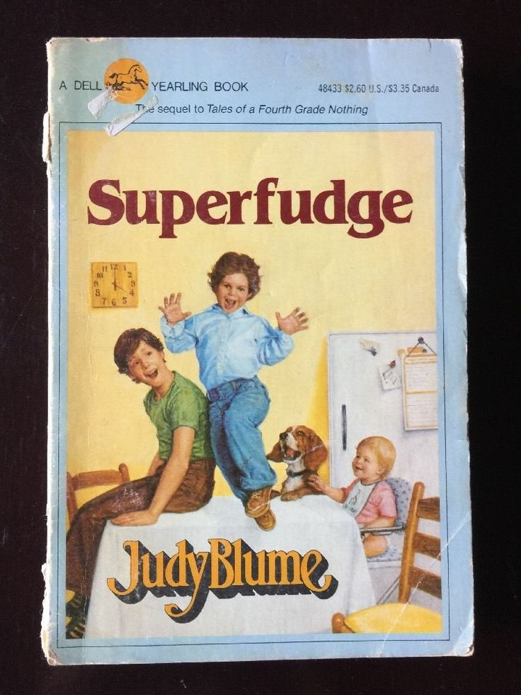 Superfudge by Judy Blume (1986, Paperback)