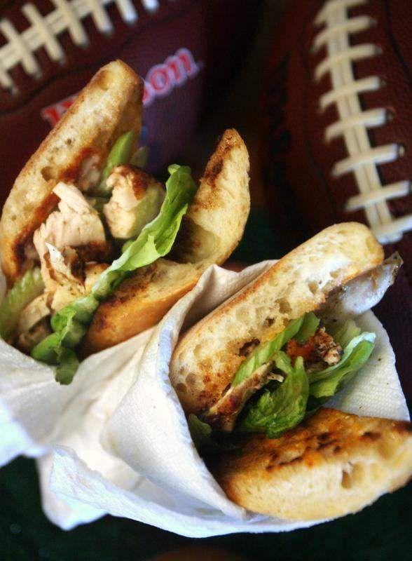 Free Press Test Kitchen recipe: Buffalo Chicken Sub Sandwich